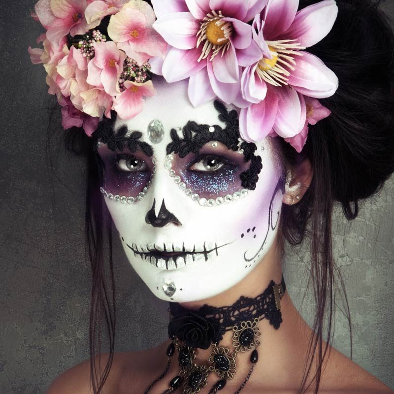 Sugarskull make-up