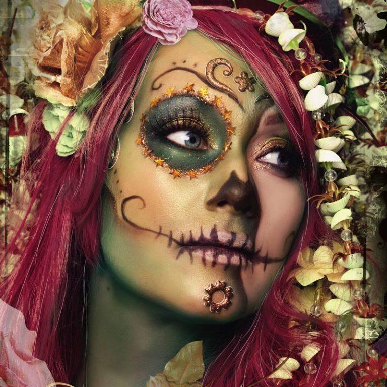 sugarskull makeup