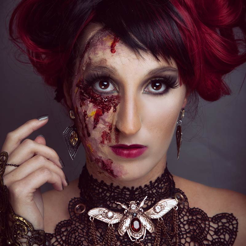 Workshop Halloween Make-up Amsterdam