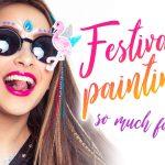 Festival Painting, Schminkteam, Facepaint, Festivallook, Partypimping