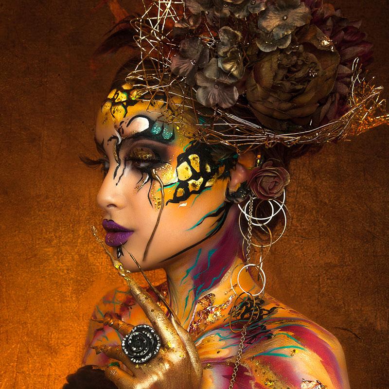 extreme visagie: Papillon